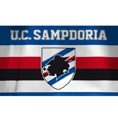 UC Sampdoria Flag
