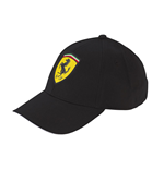 Ferrari Kid's Black Cap