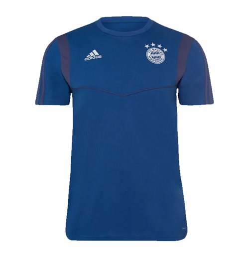 2019-2020 Bayern Munich Adidas Training Tee (Night Marine)