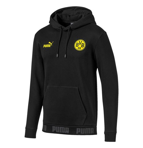 2019-2020 Borussia Dortmund Puma Football Culture Hoodie (Black)