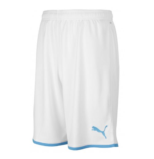 2019-2020 Olympique Marseille Puma Home Shorts (White) - Kids