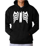 Spiderman Comics - Venom Logo - Unisex Hooded Sweatshirt Black