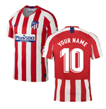 2019-2020 Atletico Madrid Home Nike Football Shirt (Your Name)