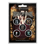 Cradle Of Filth Button Badge Pack: Albums (Retail Pack)