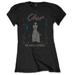Cher Ladies Tee: Heart of Stone