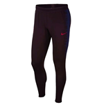 2019-2020 Barcelona Nike Strike Vaporknit Drill Pants (Burgundy)