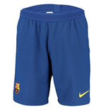 2019-2020 Barcelona Home Nike Vapor Match Shorts (Blue)