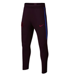 2019-2020 Barcelona Nike Training Pants (Burgundy) - Kids