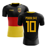 2018-2019 Germany Flag Concept Football Shirt (Podolski 10) - Kids