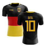 2018-2019 Germany Flag Concept Football Shirt (Ozil 10) - Kids