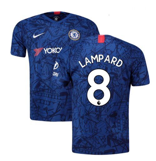 2019-20 Chelsea Home Shirt (Lampard 8)