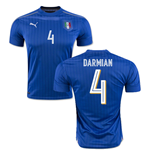 2016-2017 Italy Puma Home Shirt (Darmian 4) - Kids