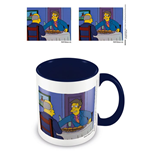 Simpsons Coloured Inner Mug Steamed Hams