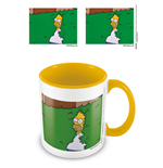 Simpsons Coloured Inner Mug Homer Bush