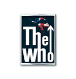 The Who Pin Badge: Leap