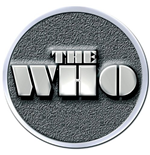 The Who Pin Badge: Stencil