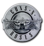 Guns N' Roses Pin Badge: Bullet Logo