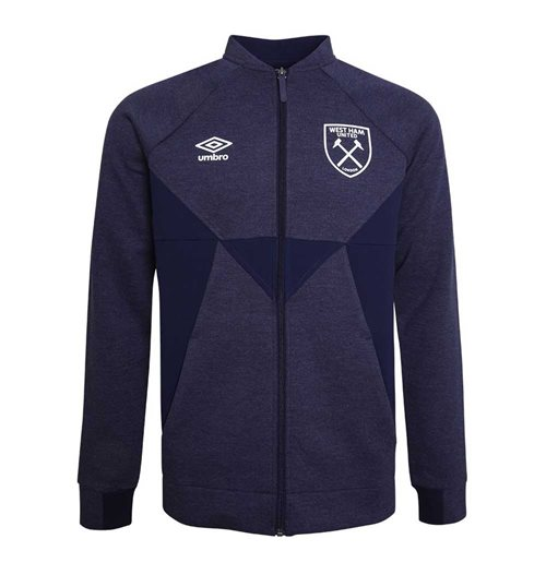 2019-2020 West Ham Presentation Jacket (Evening Blue)