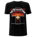 Metallica Unisex Tee: Master of Puppets Cross