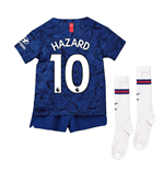 2019-20 Chelsea Home Mini Kit (Hazard 10)