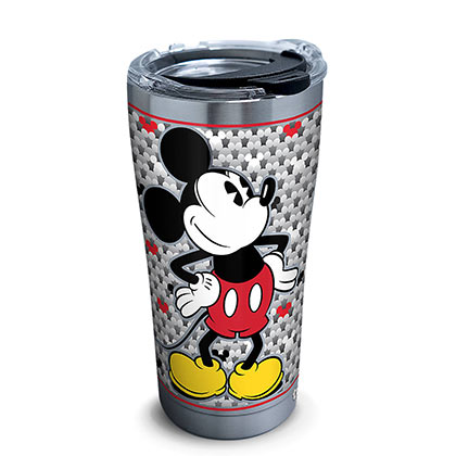 Mickey Mouse Silver 20 Oz Stainless Steel Mug