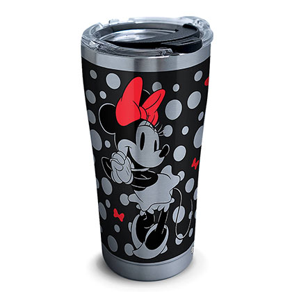 Minnie Mouse Silver 20 Oz Stainless Steel Mug