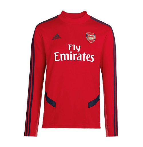 2019-2020 Arsenal Adidas Training Top (Red)