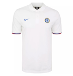 2019-2020 Chelsea Matchup Core Polo Shirt (White)