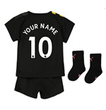 2019-2020 Manchester City Away Baby Kit (Your Name)