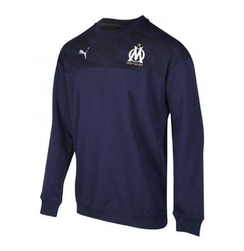2019-2020 Marseille Casuals Sweat Top (Peacot)