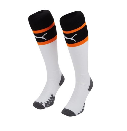 2019-2020 Valencia Home Puma Socks (White)