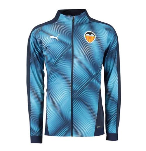 2019-2020 Valencia Puma Stadium Jacket (Peacot)