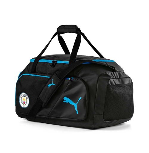 2019-2020 Manchester City Puma Medium Bag (Black)