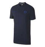 2019-2020 Chelsea Nike Authentic Grand Slam Polo Shirt (Obsidian)