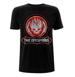 The Offspring Unisex Tee: Distressed Skull