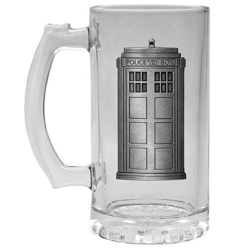 Doctor Who Glass Tankard