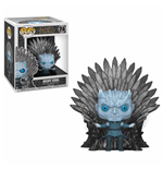 Game of Thrones POP! Deluxe Vinyl Figure Night King on Iron Throne 15 cm