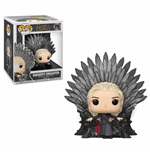 Game of Thrones POP! Deluxe Vinyl Figure Daenerys on Iron Throne 15 cm