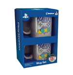 Sony PlayStation Mug 2-Pack Player One and Player Two