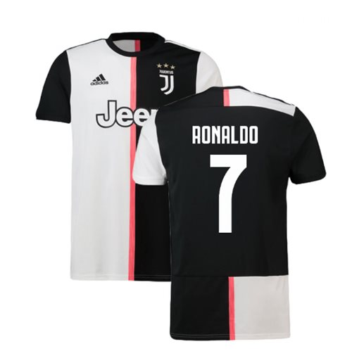 sale retailer 31f05 741a1 2019-2020 Juventus Adidas Home Football Shirt (Ronaldo 7)