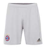 2019-2020 Bayern Munich Adidas Away Shorts (Grey) - Kids