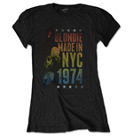 Blondie Ladies Tee: Made in NYC
