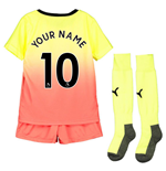 2019-2020 Manchester City Third Little Boys Mini Kit (Your Name)