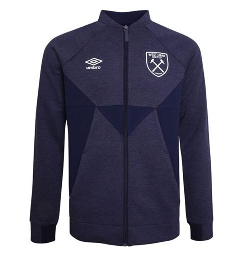 2019-2020 West Ham Presentation Jacket (Evening Blue) - Kids