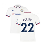 2019-2020 Chelsea Away Nike Football Shirt (Pulisic 22)