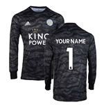 2019-2020 Leicester City Home Goalkeeper Shirt (Your Name)