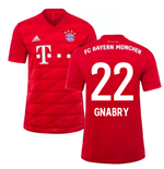 2019-2020 Bayern Munich Adidas Home Football Shirt (GNABRY 22)