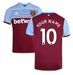 2019-20 West Ham Home Shirt (Your Name)