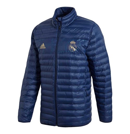 2019-2020 Real Madrid Adidas SSP LT Jacket (Night Indigo)
