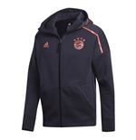 2019-2020 Bayern Munich Adidas ZNE 3.0 Anthem Jacket (Legend Ink)